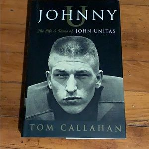Johnny Unitas - Hardback book